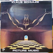 KLAUS SCHULZE PICTURE MUSIC ELECTRO FRENCH LP ISADORA 1976