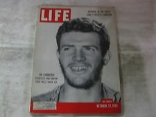 Life Magazine October 27th 1952 Jon Lindbergh Scientists Published By Time mg465