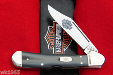 Case XX Harley Davidson Black & Silver Copperlock Pocket Knife - USA 52076