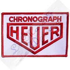 Cronógrafo Heuer Bordado Tela Emblema Insignia Parche