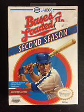 1990 Bases Loaded 2 IINew Factory Sealed for Nintendo NES SNES VGA N64