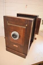 "VTG / Antique Eastman Kodak 9A Century Studio Camera w/ Ilex No. 4 12"" Lens"