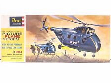Revell Picture Plane Series HRS-1 Marine Helicopter 1969 Model Kit H-181