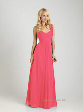 Coral Pink long Christmas party, cocktail, evening dress sizes 8,10,12,15,16,18