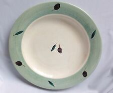 Bristol By Williams Sonoma Green Rim Salad Plate Made in England 9.1/8""