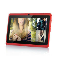 """7""""RED-DUAL CORE/Android 4.2/A23/Dual Camera 8GB/512MB Wifi CapacitiveTablet/PC"""