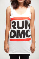 RUN DMC King Of Rock Hip Hop Rap Vintage WOMEN Tank TOP T-SHIRT DRESS Size S M