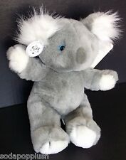 RUSS Brisbane Gray White Koala Bear Caress Soft Pets Plush Stuffed Animal Toy
