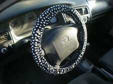 Paw Print  Fabric Steering Wheel Cover