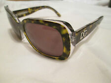 Dolce & Gabbana brown tortoiseshell frame sunglasses. With case. DG 4052.