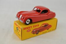 "Dinky 157 Jaguar XK120 Coupe 3 3/4"" Long 1959-62 Spun Hubs M Tires Gloss Base"