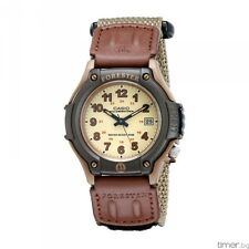 Casio FT500WC-5B Mens Brown Forester Analog Sports Watch Fabric Band
