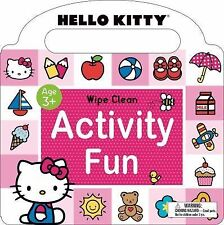Hello Kitty Ser.: Hello Kitty: Wipe Clean Activity Fun by Roger Priddy (2015,...