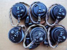 WWII RAF Air Ministry Flying Helmet Mask Microphone Assembly REF.10A/12570