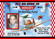 DISNEY PLANES CUSTOM BIRTHDAY PARTY INVITATION & FREE TY CARD PRINTABLE