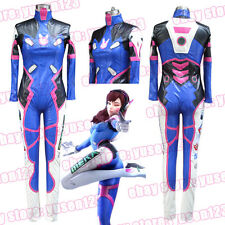 OW D.VA Overwatch Hero Cosplay Clothing Comic Con Fancy Dress Halloween Uniform
