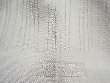 "Frette Tihany Lines Crisp White 39"" x 39"" Tablecloth, Great For Holiday Tab"