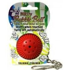 Babble Talking Ball Bird Toy - Birdie Cage Teach Your To Talk Parrot Pets