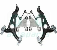 Per ALFA ROMEO 147 Anteriore Sospensione Superiore & Inferiore Forcella ARMS + DROP LINKS KIT