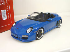 1:18 GT Porsche 911 Speedster 997 blue Limited Ed. SHIPPING FREE