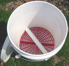 Vermiculture Worm Composting Bucket  Indoor NO ODOR Vented Vermipost Compost Bin