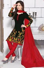 Elegant Cotton Designer Printed Unstitched Dress Material Salwar Suit .No RTC918