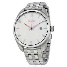 Nixon Bullet White Dial Stainless Steel Ladies Watch A418100
