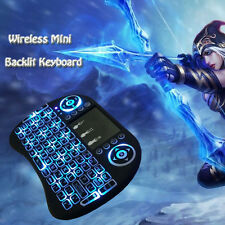 Charm Mini Gaming Keyboard Wireless Backlit Touchpad Air Mouse For PC/TV Box