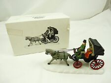 Department 56 Heritage Village Collection CENTRAL PARK CARRIAGE In Box