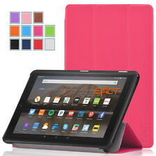 Exact SLENDER Slim Magnetic Trifold Stand Case For Amazon Kindle Fire 7 2015