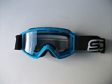 NEW KIDS YOUTH BLUE SCOTT MOTOCROSS QUAD GOGGLES PW YZ LT MX DIRT CHILD CRF XR