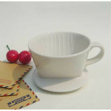 101 Manual Ceramic Coffee Filter Cup - Used with Filter Paper
