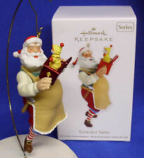 Hallmark Christmas Series Ornament Toymaker Santa #13 2012 Jack in the Box NIB