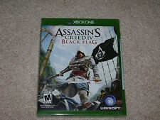 ASSASSIN'S CREED IV BLACK FLAG...XBOX ONE...**SEALED**BRAND NEW**!!!!!