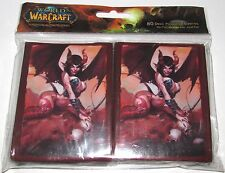 80 SELORA SUCCUBUS Cryptozoic WOW World of Warcraft Deck Protector Card Sleeves