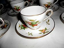 SPODE BLENHHEIM Y7695 Cups and Saucers (12 Sets) - England - Excellent