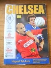 01/11/2001 Chelsea v Hapoel Tel Aviv [UEFA Cup] (Slight Crease). No obvious faul