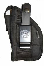Bulldog hand Gun holster For Taurus Millenium G2 PT111 & PT140 With Laser
