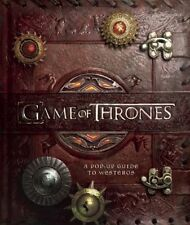 NEW Game of Thrones : A Pop-Up Guide to Westeros - Song of Ice & Fire  NICE GIFT
