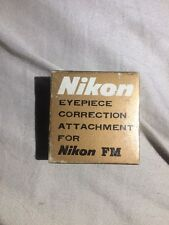 Nikon FM +3.0D eyepiece correction attachment  New in the box