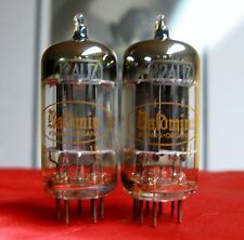 "1959 Toshiba 12AU7 PLATINUM PLUS GRADE ""D"" Getter Tubes Matched Pair =ECC82 5814"