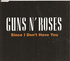 Guns N Roses Since I Don't Have You Cd Single