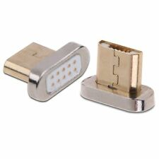 Magnetic replacement for Micro USB 2.0 Adapter Charger Cable Metal Andriod New