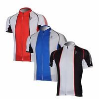 EOC Men's Short Sleeve Cycling Jersey Bicycle Racing Team Shirts 3 Color S-3XL