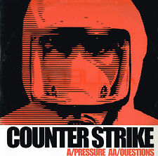 "COUNTER STRIKE Pressure / Questions 12"" Single VINYL Canada 2001 ALLIED 103 @Exl"