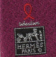 "VERY RARE HERMES ""Life In The Pocket"" Special Ties for AIDS Awareness NEW BOX"