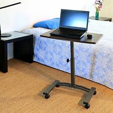 Small Computer Desk Portable Laptop Table Surface Home Office Furniture Keyboard