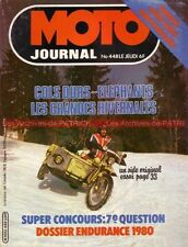MOTO JOURNAL  448 SUZUKI PE 175 KIT MOTEUR YAMAHA XT HONDA CB 900 F Guy COULON