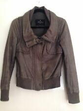 All Saints 100% Leather Jacket 10
