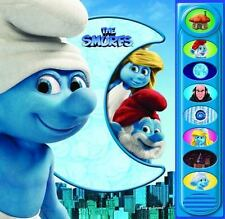 The Smurfs (Play-a-Sound Book) Editors of Publications International Ltd. Hardc